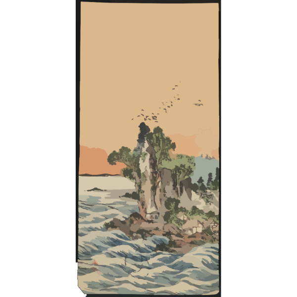 View Of Shichirigahama. PNG images