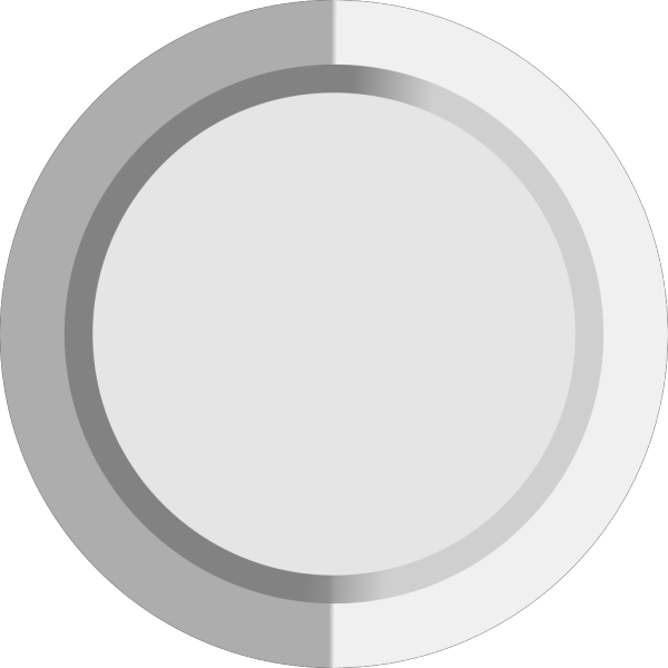 Grey Button PNG icon