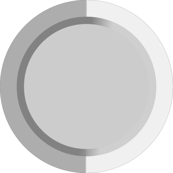 Grey Button PNG Clip art