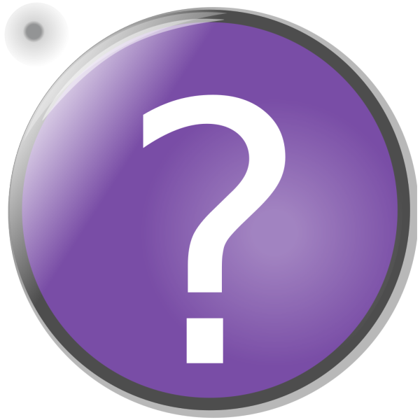 Purple Circle Help Button PNG Clip art