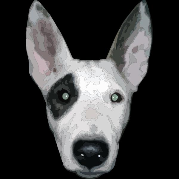 Bullterrier Head PNG Clip art