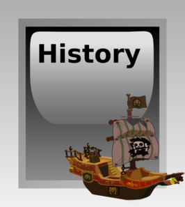 History Button PNG image