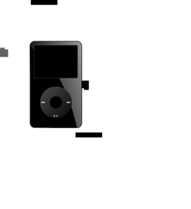 Ipod Black Old PNG images