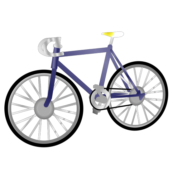 Bicycle Silhouette PNG Clip art