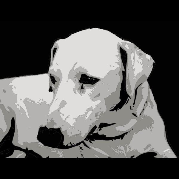 Sad Looking Dog PNG Clip art