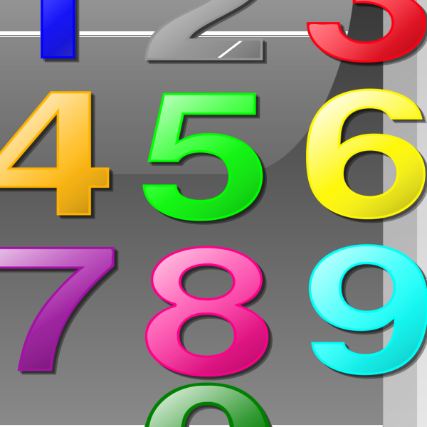 Numbers Button PNG Clip art