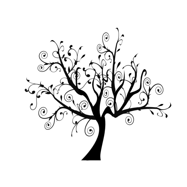 Branch Vine Swirl Tree PNG icons