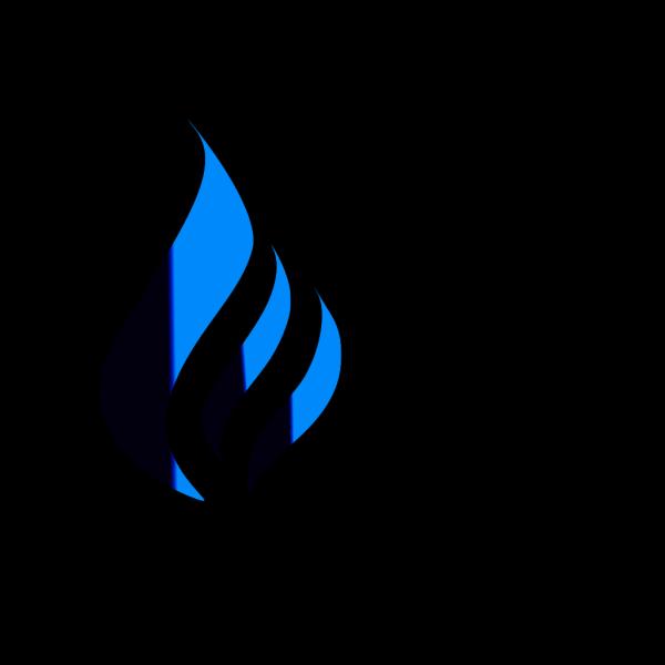 N B M Blue Gas PNG Clip art