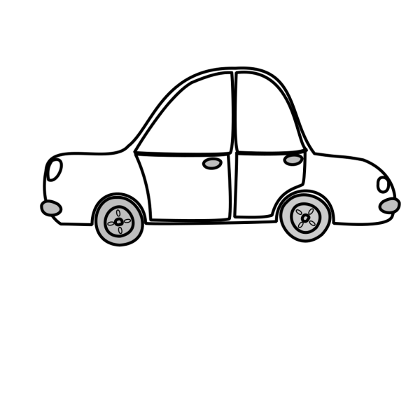 Car Outline PNG Clip art