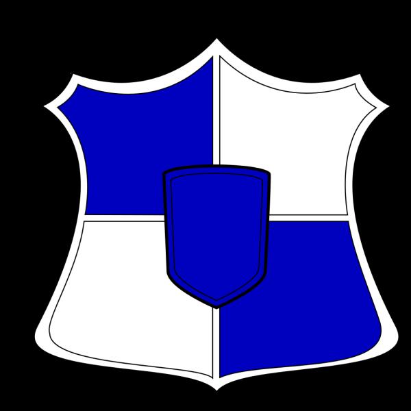 Shield Blue White PNG Clip art