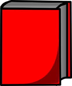 Blue Book With Red Bookmark PNG Clip art