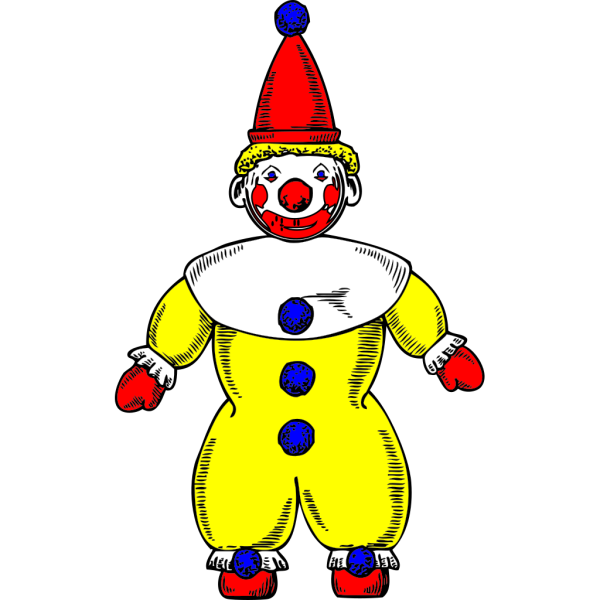 Clown Neck Ruffle PNG clipart