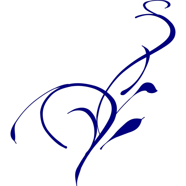 Blue Vines PNG Clip art