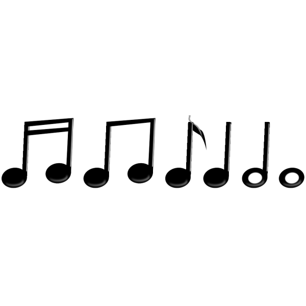 Musical Notes PNG images