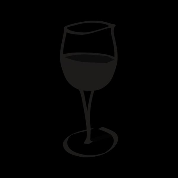 Wineglasblack PNG Clip art