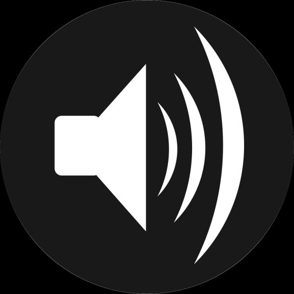 Animated Black Speaker PNG Clip art