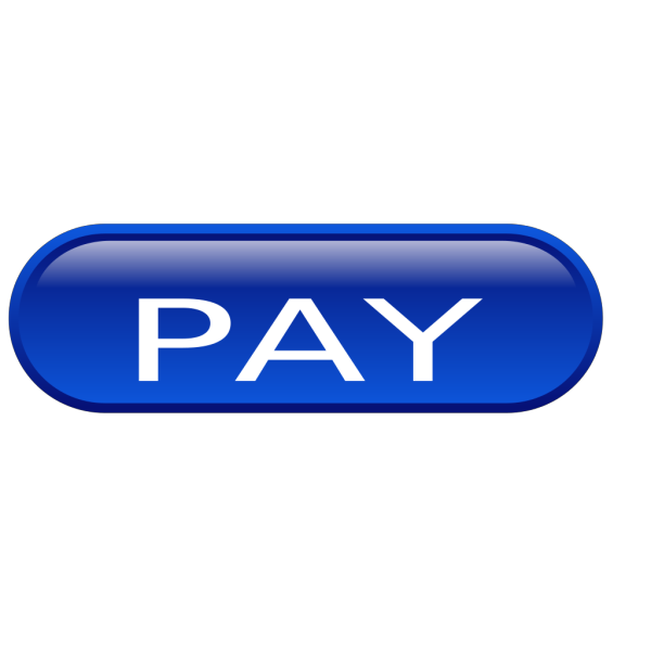 Pay Button White PNG Clip art