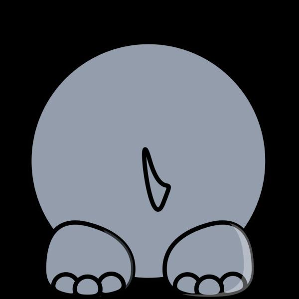 Hippo Back PNG Clip art