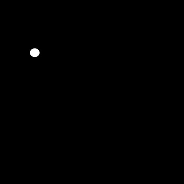 Black Bunny PNG Clip art
