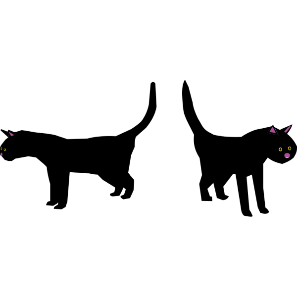 Black Cat PNG icons