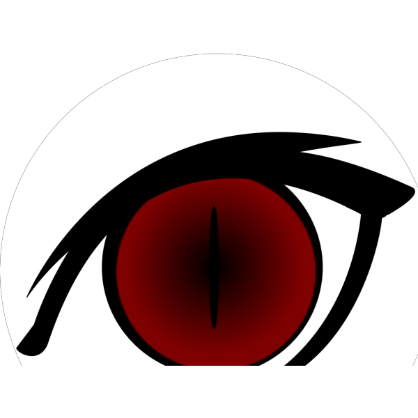 Anime Eye Full PNG icon