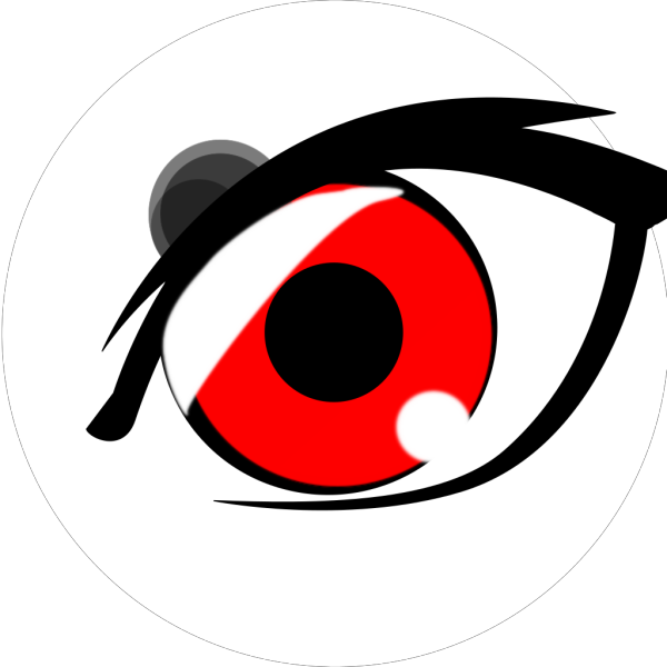 Vampire Anime Eye 2 PNG Clip art