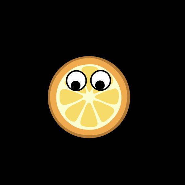 Orange - Eyes Centered PNG Clip art