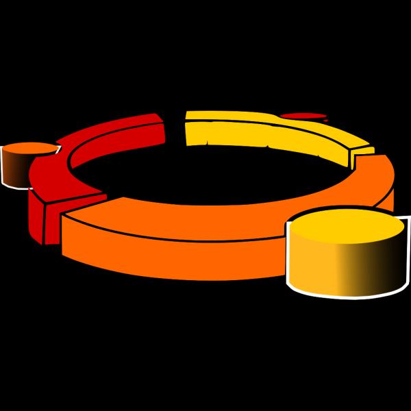 Ring Frame Eruption PNG Clip art