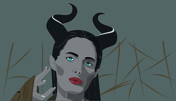 Maleficent PNG Clip art
