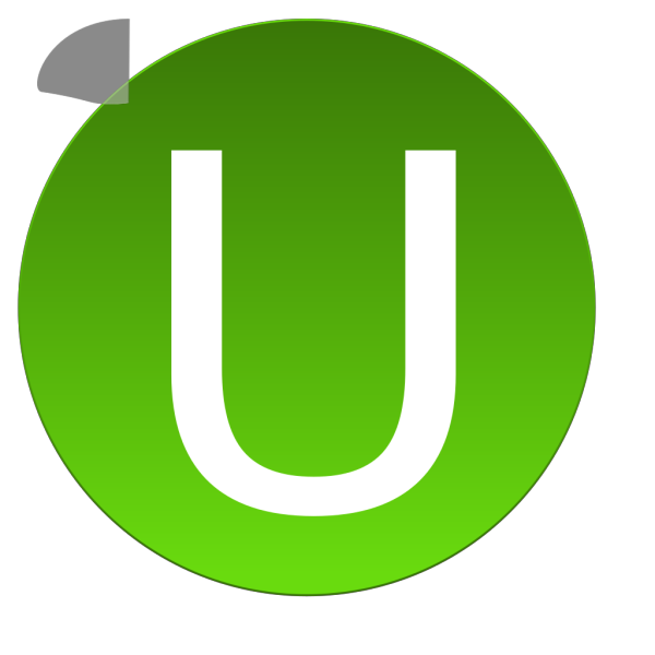 Green U PNG icon