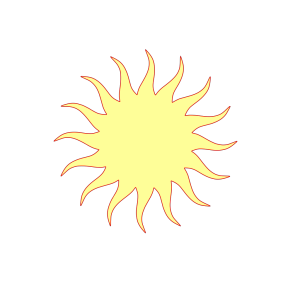 Sunset Symbol PNG Clip art