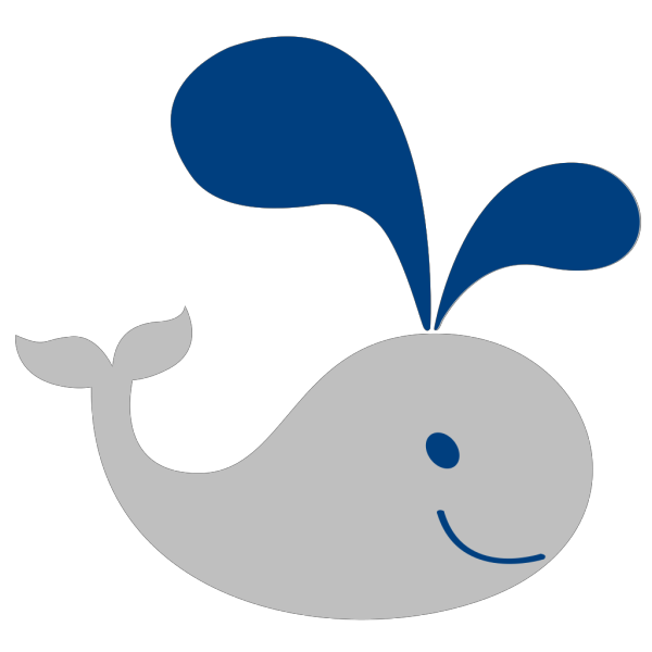 Whale Lineart PNG Clip art