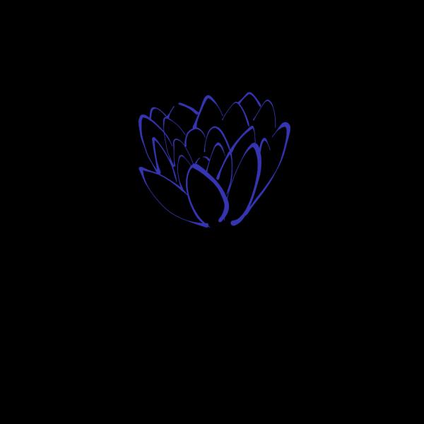 Pale Blue Lotus PNG Clip art
