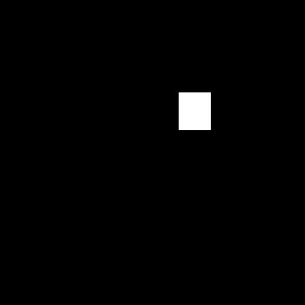 Black And White Prize Ribbon PNG Clip art