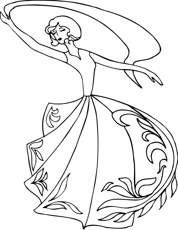 Dancing Sketch PNG Clip art