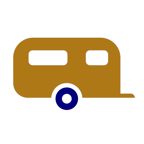 Rv Blue And Gold PNG Clip art