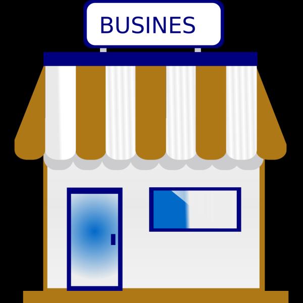 Shop Blue And Gold PNG Clip art