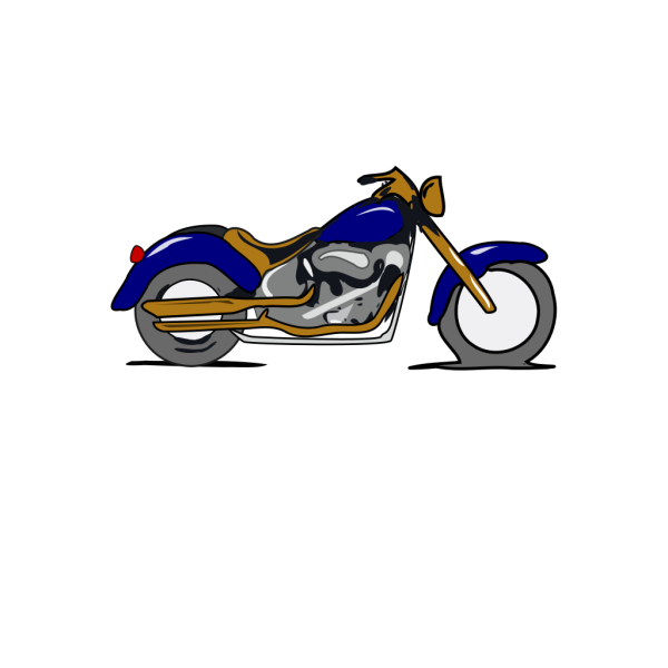 Harley Mc Gold And Blue PNG Clip art