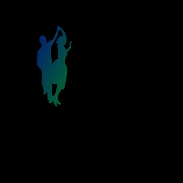 Bluegreen Couple PNG Clip art