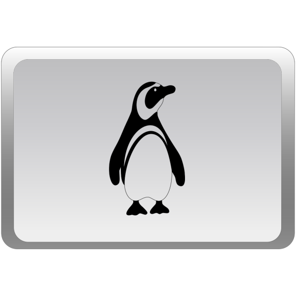 Minimal Penguin Avatar PNG images