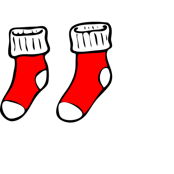 Blue And Red Socks PNG Clip art