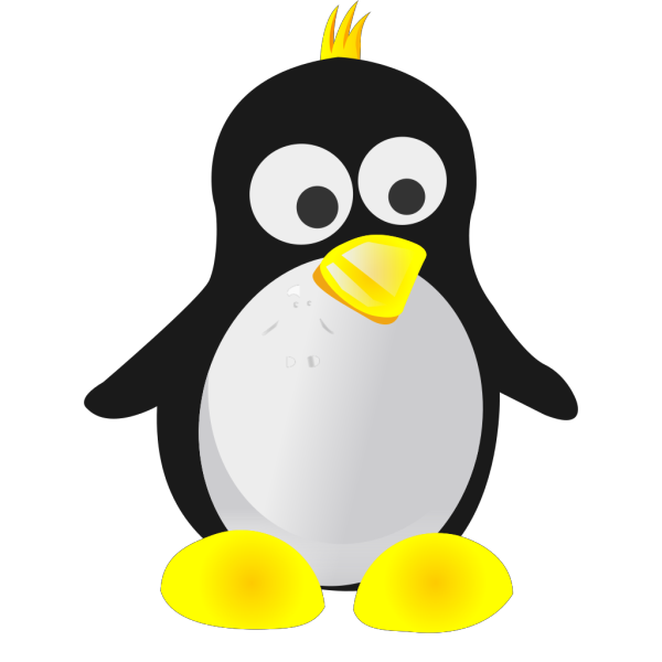 Abstract Tux Avatar PNG Clip art