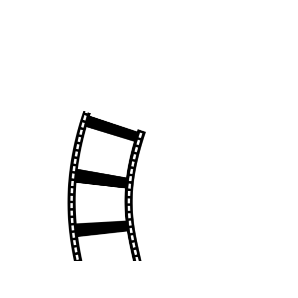 Camera And Film Strip PNG Clip art
