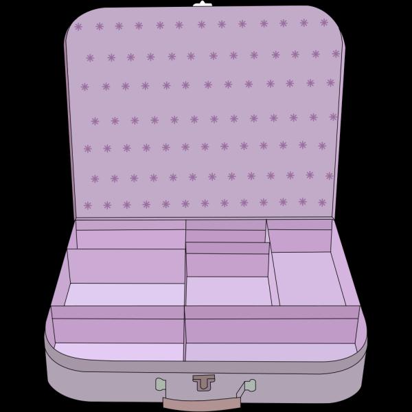Suitcase Lineart PNG Clip art