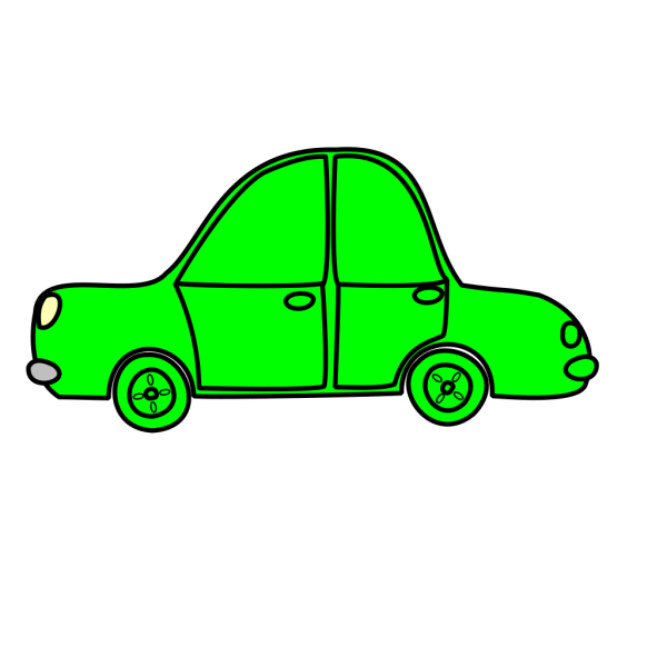 Car Lineart PNG Clip art