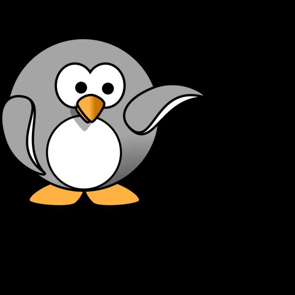 Simple Penguin PNG Clip art