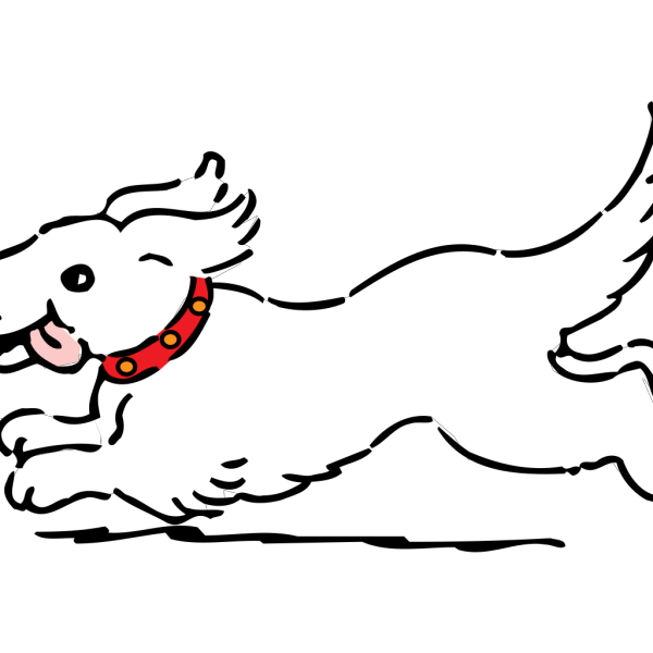 Black And White Dog PNG Clip art