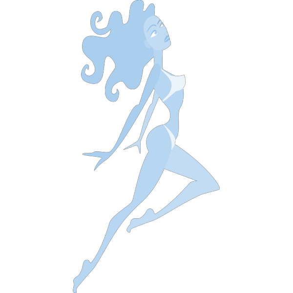 Jumping Girl PNG images