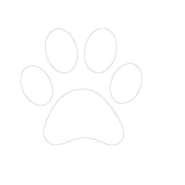 White Paw PNG Clip art
