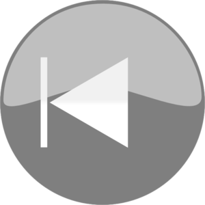 Windows Media Player Skip Back Button Grey PNG Clip art